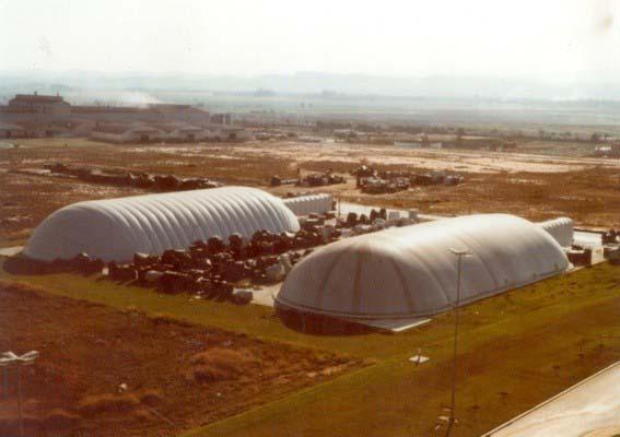Estrutura inflável